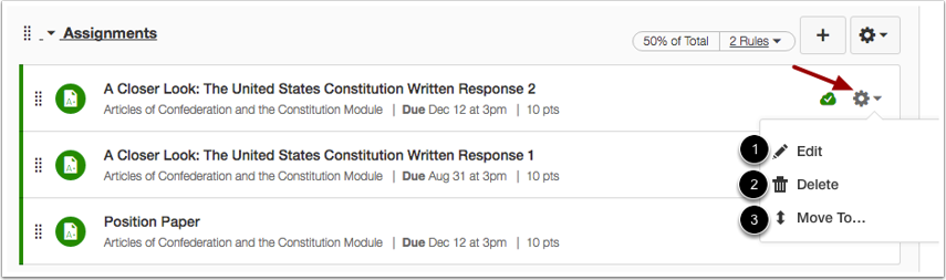 Manage Individual Assignment