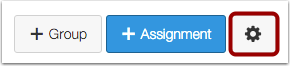 Assignments Settings