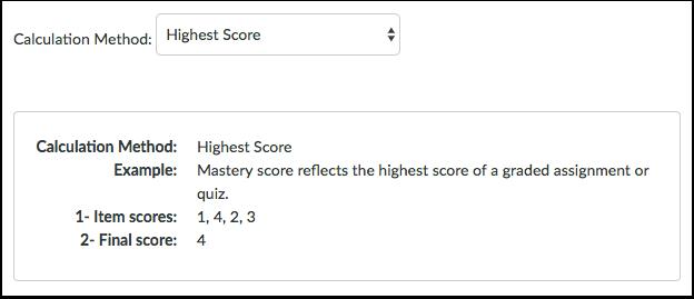 Highest Score