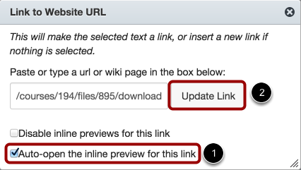 Enable Auto-Open for Inline Preview