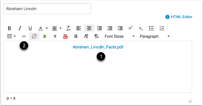 Open URL Link Icon