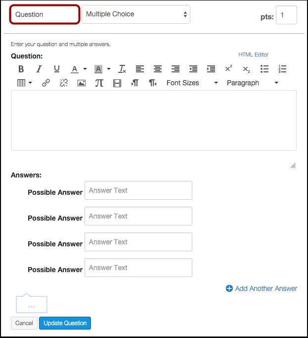 Name Survey Question