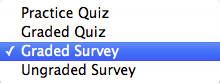 Select Survey Type