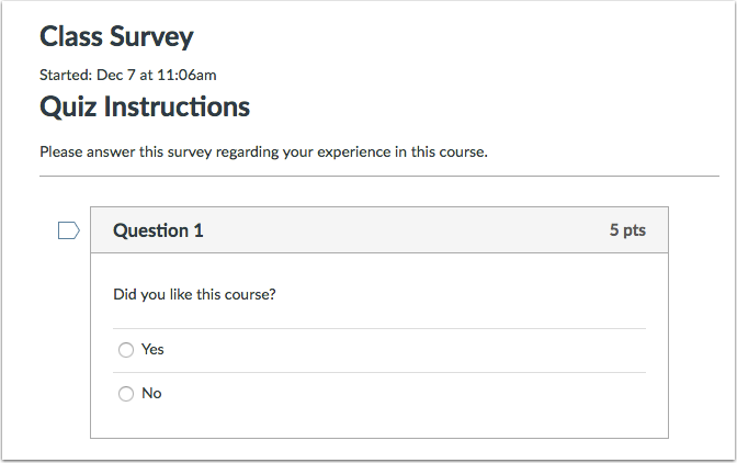 Complete Survey