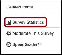 Open Survey Statistics