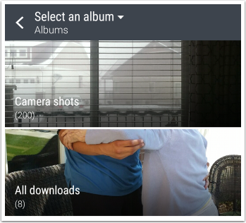 Choose from Gallery