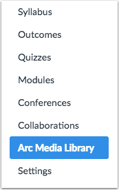 Open Arc Media Library