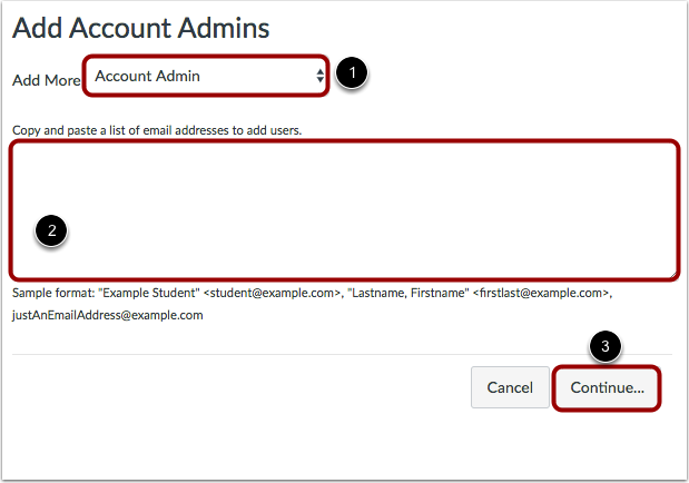 Add Admin Role and Email