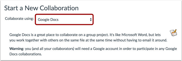 Collaborate Using Google Docs