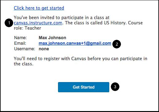 Accept a Course Invitation