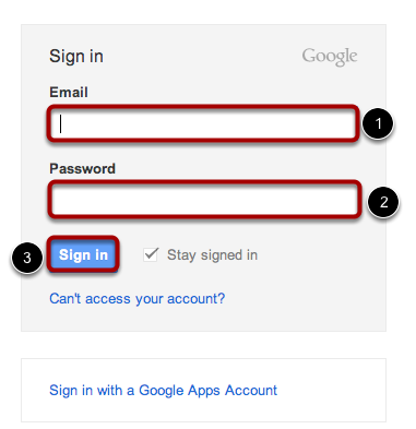 Login to Gmail