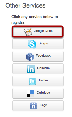 Register Google Docs
