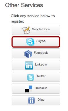 Register Skype