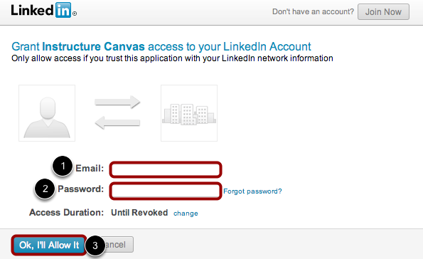 Login to LinkedIn