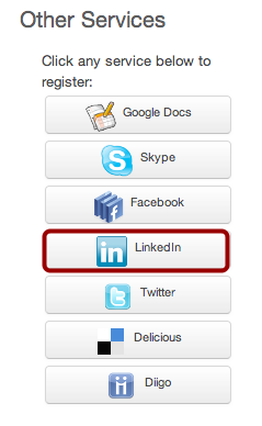 Register LinkedIn