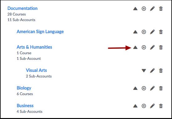 Hide Sub-Accounts