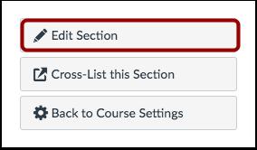 Edit Section