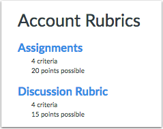 When Would I Use Account-Level Rubrics?