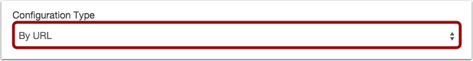 Set Configuration Type