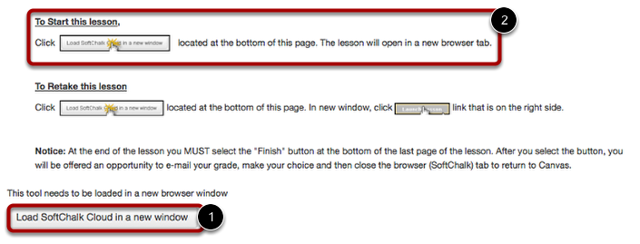Option 2: Load Lesson in New Tab
