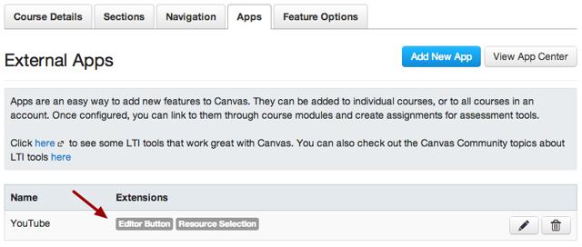 View Configured App