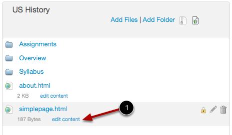 Edit HTML File
