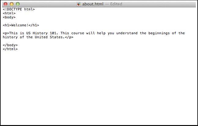 Edit HTML File Contents