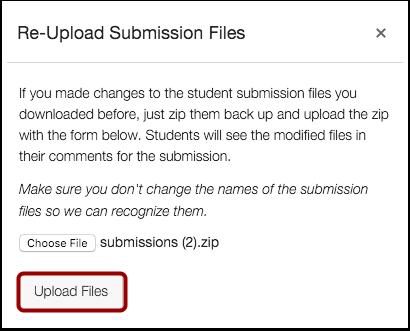 Upload Files