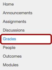 Option 1: Open Grades