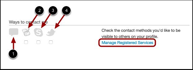 Edit Ways to Contact Me