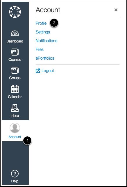 Open Profile in New Canvas UI