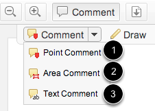 Select Comment Type