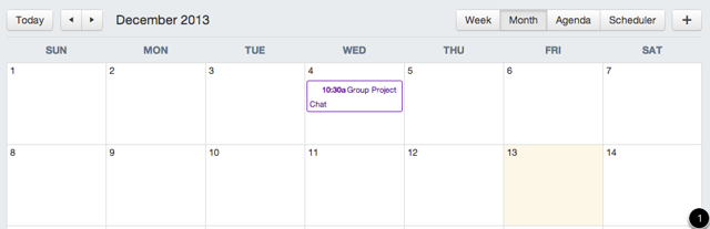 View Group Calendar
