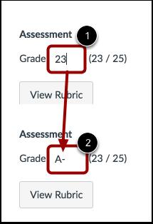 Grade Assignment