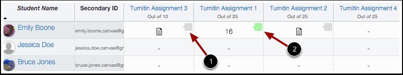 Turnitin Icons