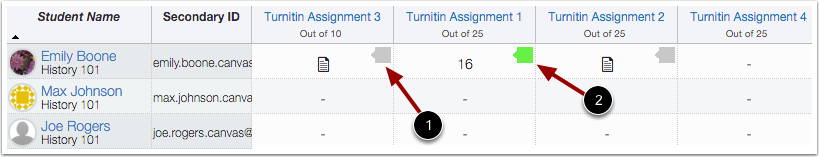 Turnitin Icons