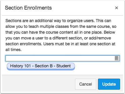 View Updated Enrollment