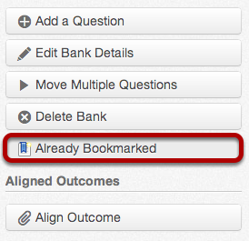 View Bookmarked Bank