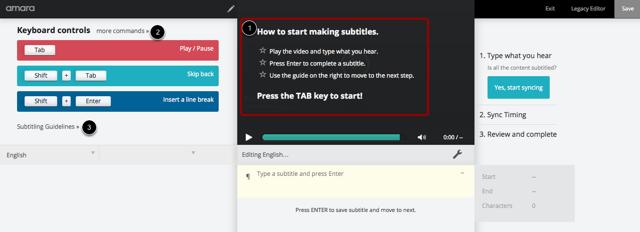 Create Subtitles
