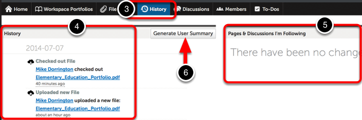 Step 3: Access the History Tab