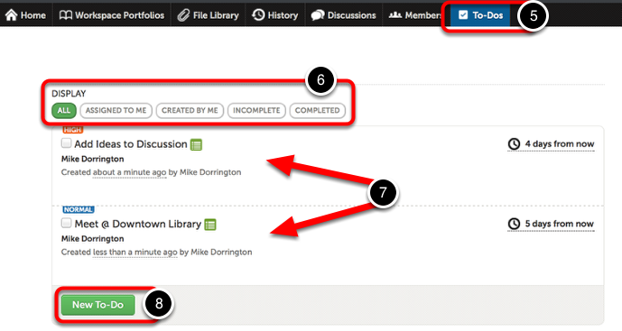 Step 3: Navigate the To-Dos Feature