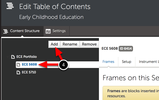 Step 3: Add Sub-Sections to the Table of Contents