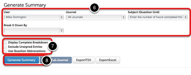 Step 4: Generate Summary