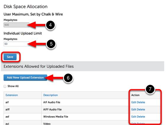 Step 2: Adjust Uploading Options