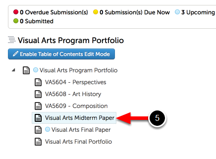 Step 3: Access Portfolio Page