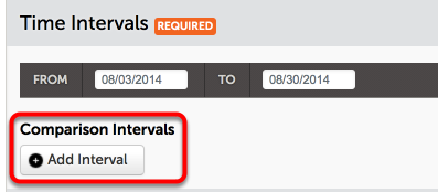 Optionally Add an Interval