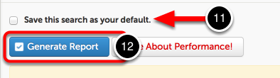 Step 6: Generate Report