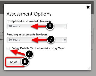Step 3: Adjust Time Horizons