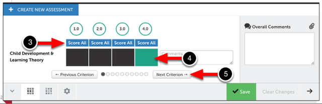 Step 3: Select Performance Levels