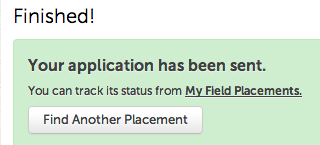 Step 5: Field Placement Confirmation